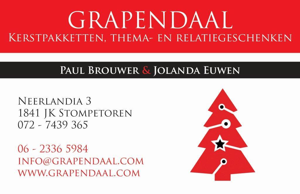 Visitekaartje Grapendaal